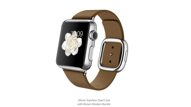Apple Watch: Modernes Lederarmband/Brown © Apple
