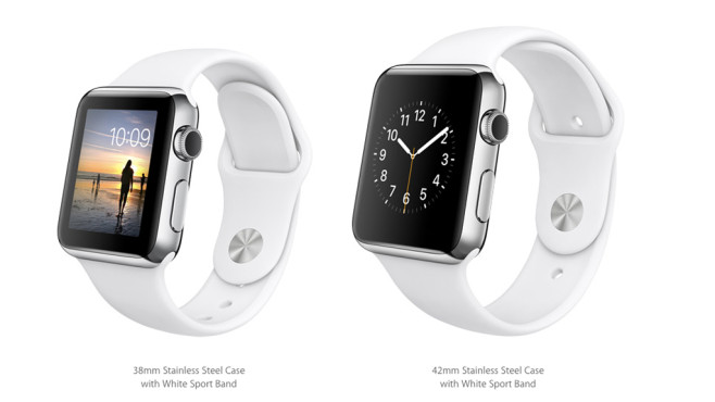 Apple Watch: Sportarmband/White © Apple