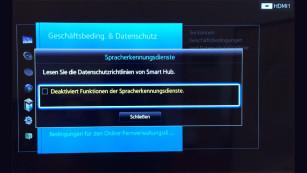 Screenshot Samsung-TV-Menü©COMPUTER BILD