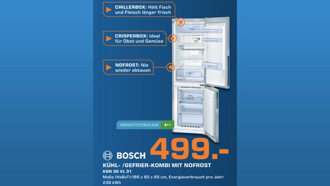 Bosch KGN36VL31 ©Saturn
