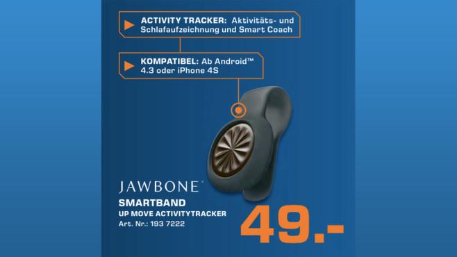 Jawbone UP Move ©Saturn