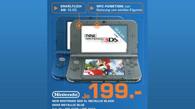 Nintendo New 3DS XL ©Saturn