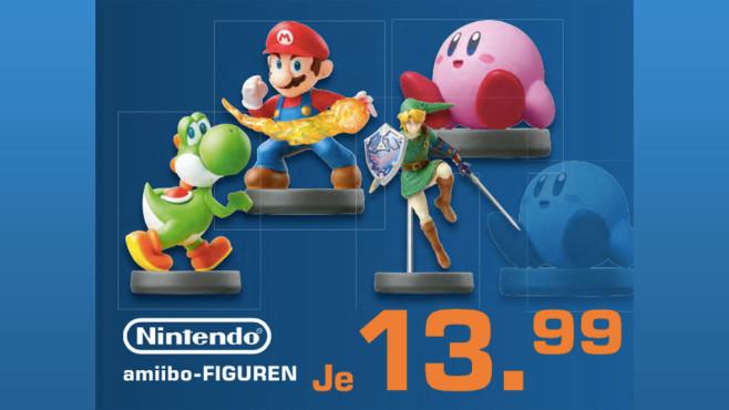 Nintendo amiibo: Super Smash Bros. Collection – diverse Spielfiguren ©Saturn