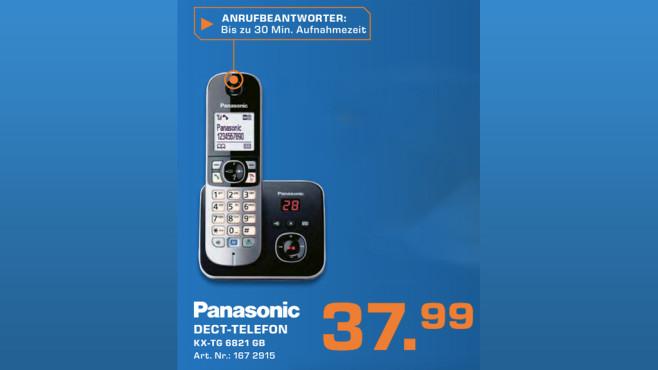 Panasonic KX-TG6821 Single ©Saturn