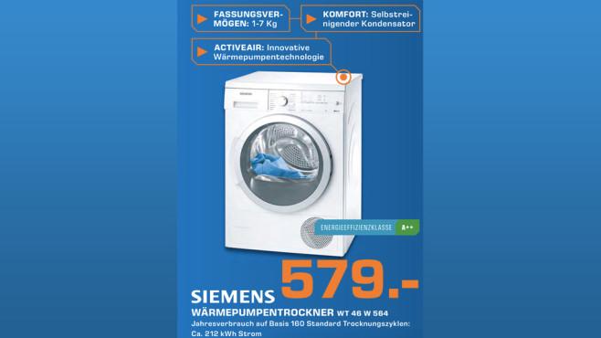 Siemens WT46W564 ©Saturn