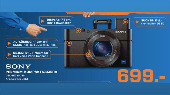 Sony Cyber-shot DSC-RX100 Mark III ©Saturn