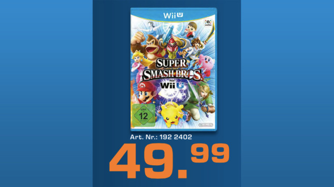 Super Smash Bros. (Wii U) ©Saturn