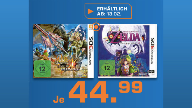 The Legend of Zelda - Majora's Mask 3D (Nintendo 3DS) ©Saturn