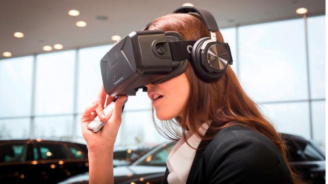 Audi VR experience, Oculus Rift©Audi