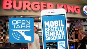 Burger King, App, Opentabs©copyright: opentabs, Celia Peterson/gettyimages