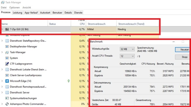 Windows 10 1809: Stromverbrauch analysieren ©COMPUTER BILD