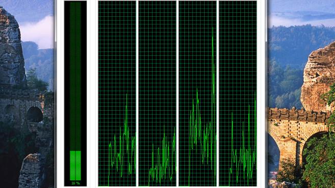 Windows 7: Ansicht per Rand-Doppelklick verkleinern ©COMPUTER BILD