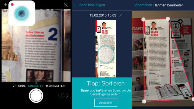 scan me – PDF Scanner & Texterkennung ©organize.me GmbH