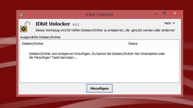 IObit: IObit Unlocker ©COMPUTER BILD