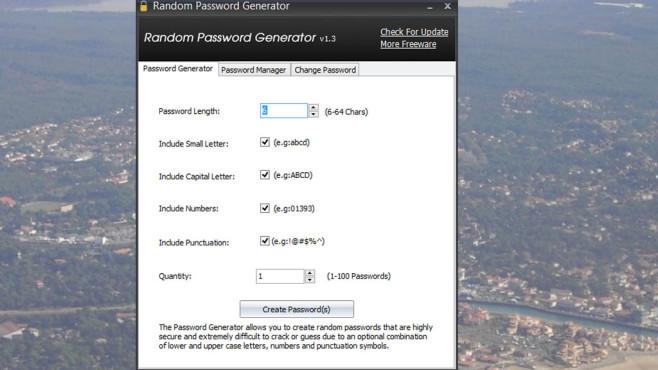 IObit: Random Password Generator ©COMPUTER BILD