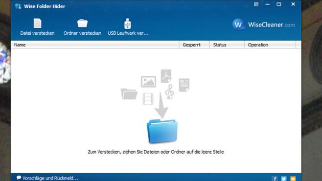 WiseCleaner.com: Wise Folder Hider ©COMPUTER BILD