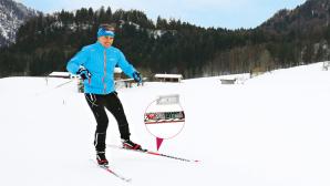 Olympiasieger Michael Greis mit den Madshus Empower XC©COMPUTER BILD