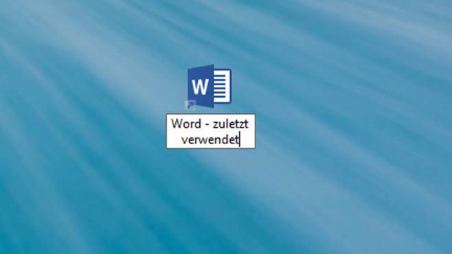 Dateinamen anpassen ©COMPUTER BILD