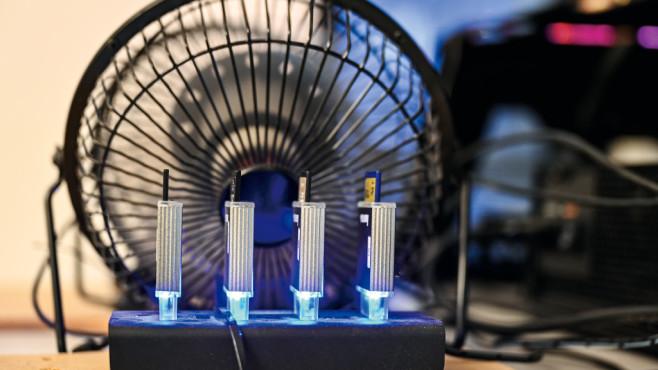 So testet COMPUTER BILD Speicherkarten©COMPUTER BILD