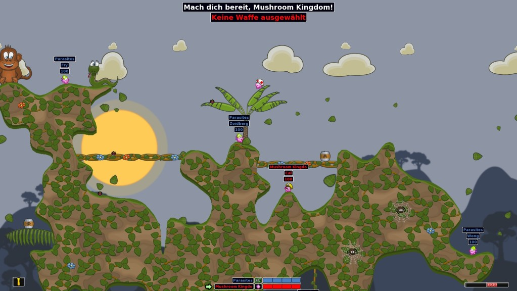 Screenshot 1 - Hedgewars (Mac)