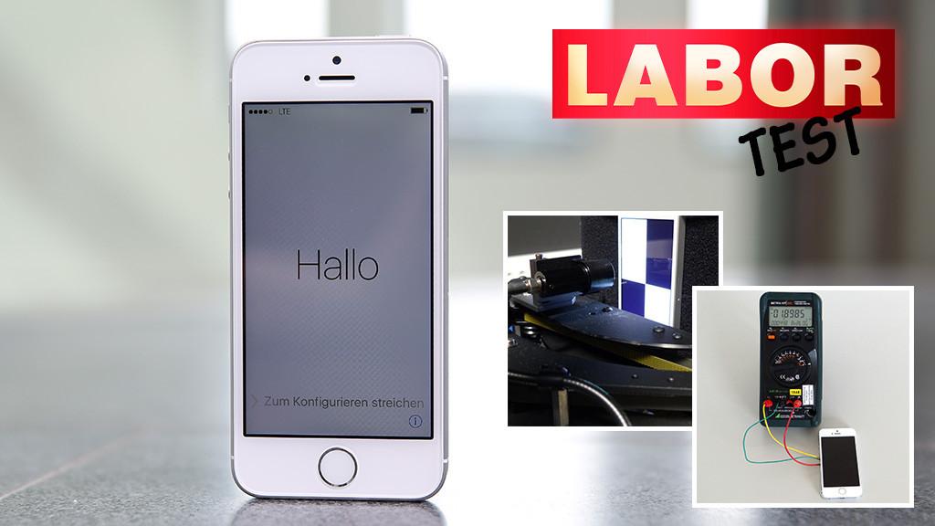 Apple iPhone SE im Labor-Test©COMPUTER BILD