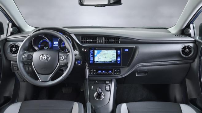 Toyota-Fahrzeugraum von innen©Toyota