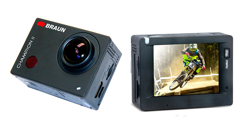 braun champion ii g nstige action cam audio video foto bild. Black Bedroom Furniture Sets. Home Design Ideas