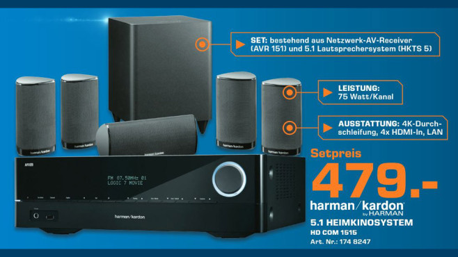 Harman-Kardon HD COM 1515 © Saturn