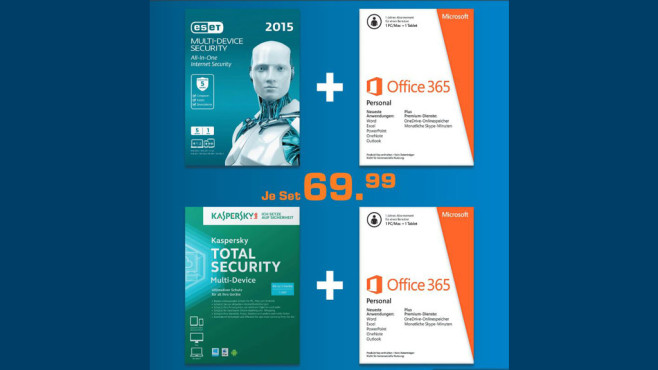 Kaspersky Total Security Multi-Device + Microsoft Office 365 Personal © Saturn