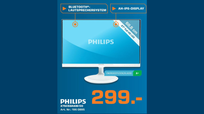 Philips 275C5QHAW/00 © Saturn