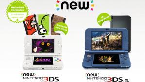 Verlgeich zwischen New 3DS und New 3DS XL©Nintendo