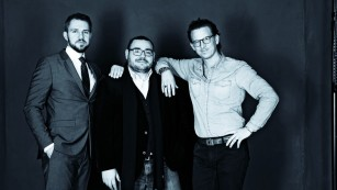 Patientus-Gründer Nicolas Schulwitz, Christo Stoyanov und Jonathan von Gratkowski©Patientus