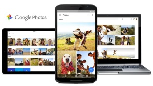 Google Fotos auf iPad, Smartphone und Chromebook©Google