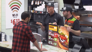 Burger King und sein Whopper © YouTube / Burger King
