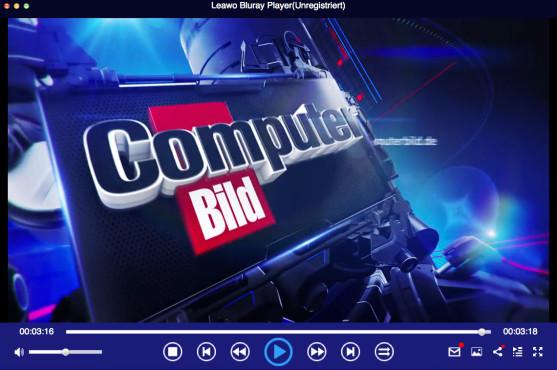 Screenshot 1 - Leawo Blu-ray Player (Mac)