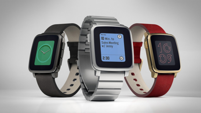 Pebble Time, Pebble Time Steel © Pebble