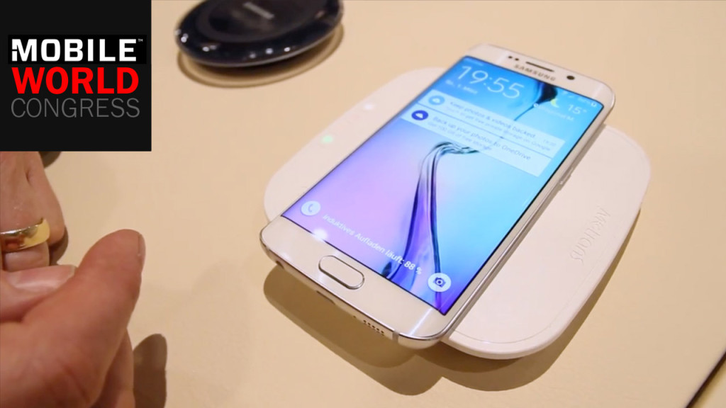 Galaxy S6 Und S6 Edge Wireless Charging Computer Bild