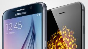 Samsung Galaxy S6/Apple iPhone 6©Samsung/Apple