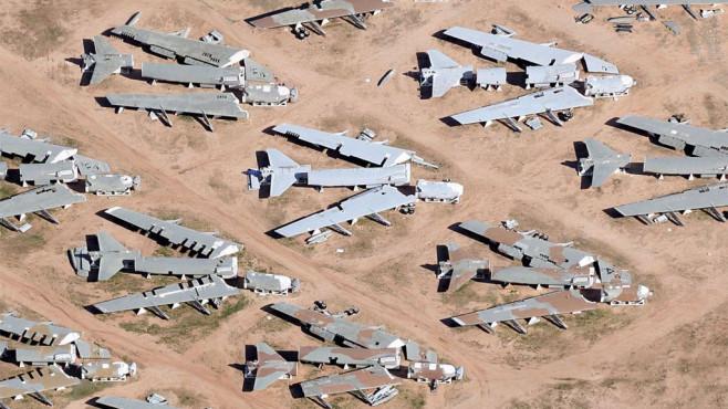 Flughafen Friedhof
