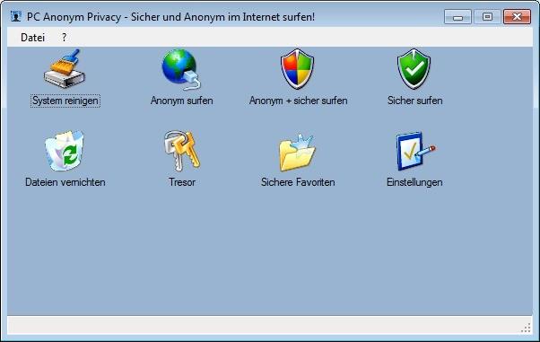 Screenshot 1 - PC Anonym Privacy