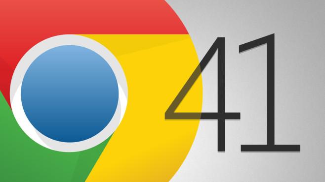 Chrome 41 im Praxis-Test: Update schließt 51 Sicherheitslücken Gibt es neue Funktionen, mit denen Chrome 41 lockt? Nein – aber Feinschliff unter der Haube.©Google