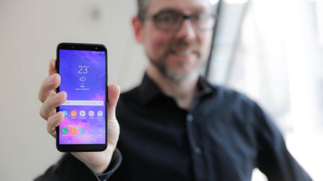 Samsung Galaxy A6 Plus ©COMPUTER BILD