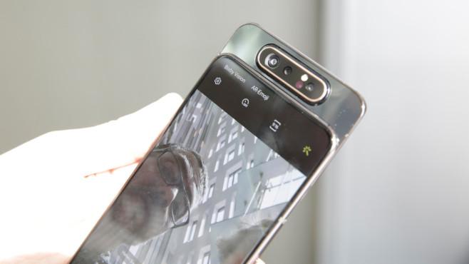 Samsung Galaxy A80 ©COMPUTER BILD