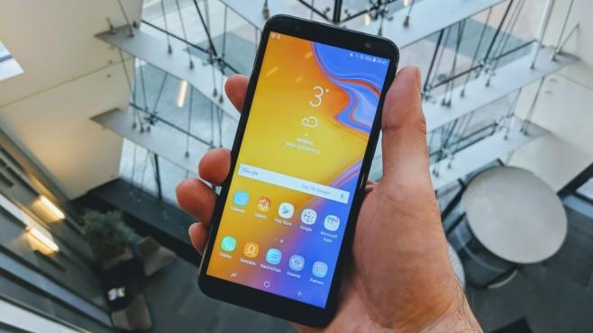 Samsung Galaxy J6 Plus Duos (2018) ©COMPUTER BILD