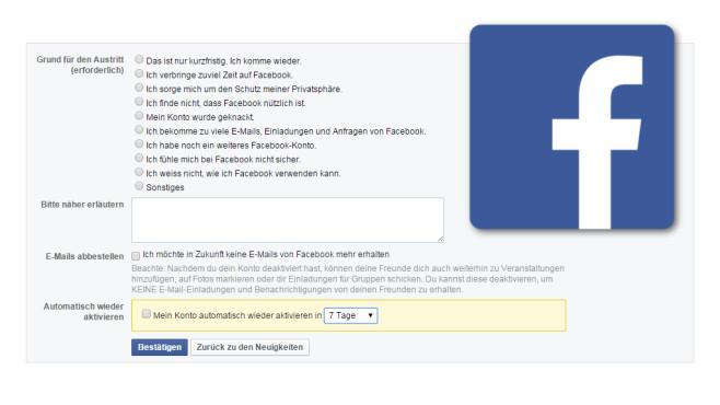 facebook abmelden android