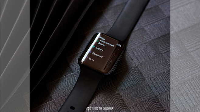 Oppo Smartwatch © Weibo.com / Digitale Chatstation