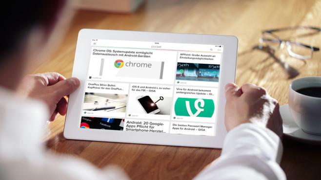 Flline-Reader-Apps im Test©Brian Jackson – Fotolia.com, Pocket, MOntage: COMPUTER BILD