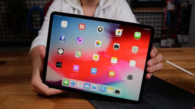 Apple iPad Pro 12.9 (2018) ©COMPUTER BILD