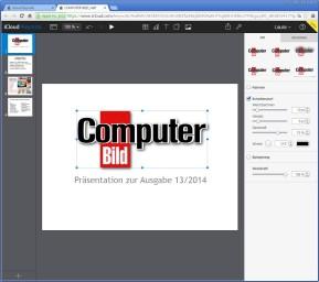 iCloud Keynote