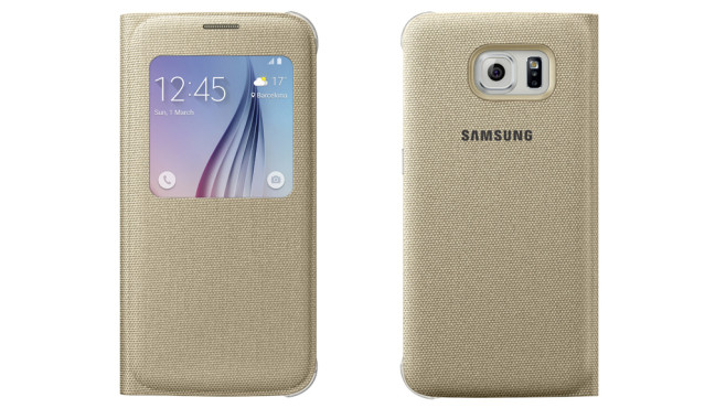 Galaxy S6: S View Cover Textil © Samsung